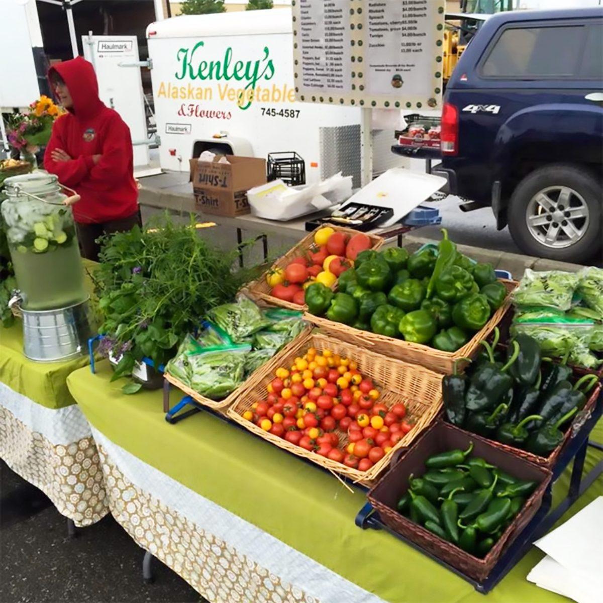 Best farmers market in Alaska South Anchorage Farmer's Market