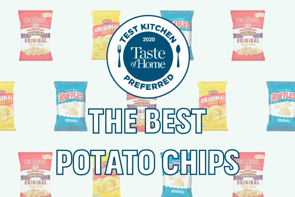 Test Kitchen Preferred the Best Potato Chips crop