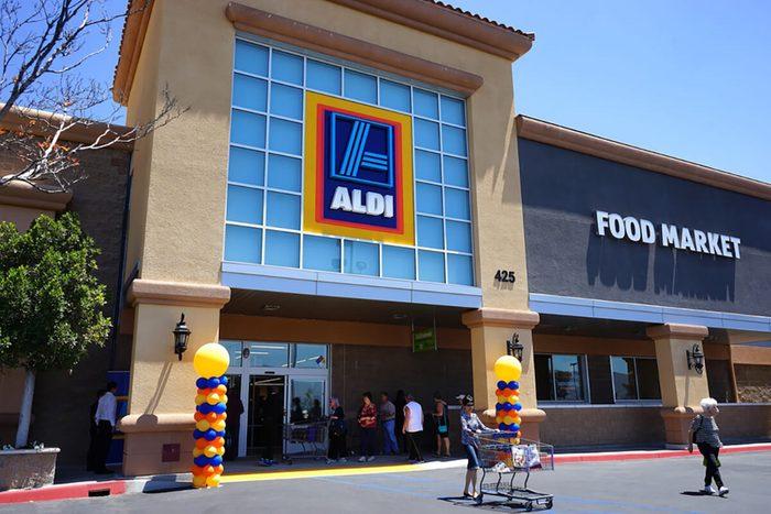 Aldi Store grand opening