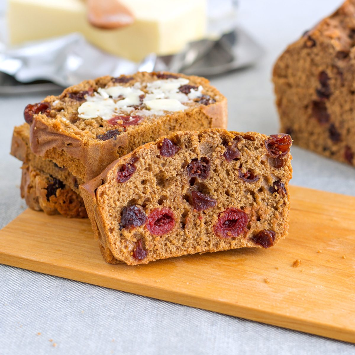 Traditional Irish Barmbrack; Shutterstock ID 595210424