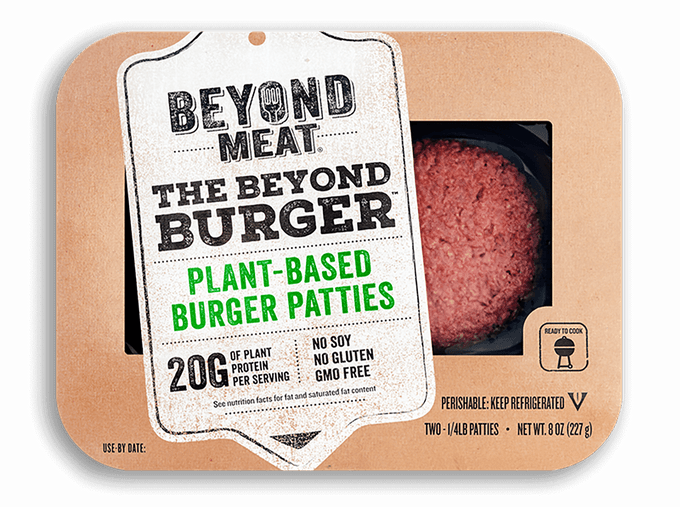 Beyond Burger in a package