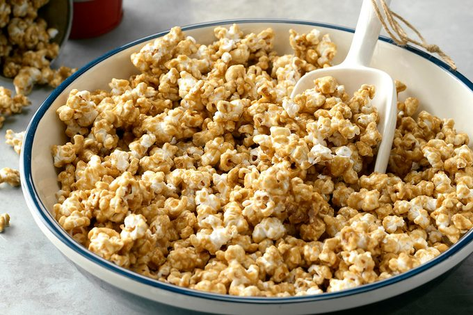 how to make homemade caramel corn