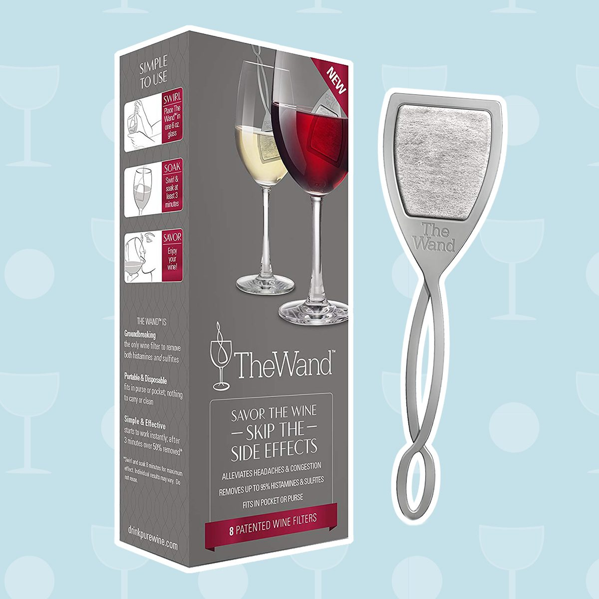 wine gifts, The Wand by PureWine