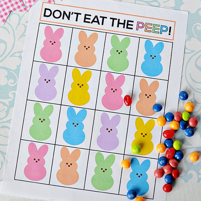Dont eat the peep game