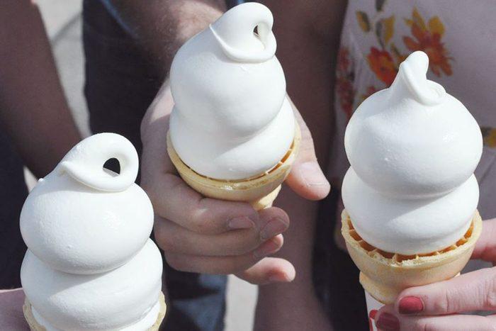 DQ ice cream cones