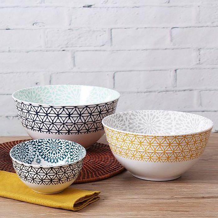 Walmart, Mainstays, bowls, product