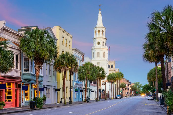 Charleston, South Carolina, USA in the French Quarter.; Shutterstock ID