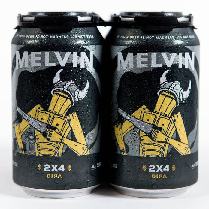 2x4 Imperial IPA Melvin Brewing