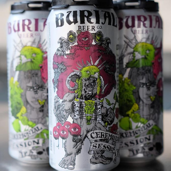 Ceremonial Session IPA_Burial Beer co