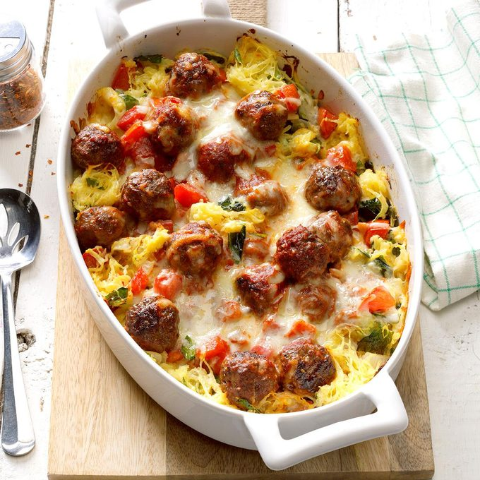 Spaghetti Squash Meatball Casserole Exps Hck18 201631 B04 014 1b 3