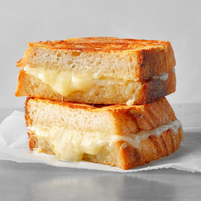 Best ever grilled cheese