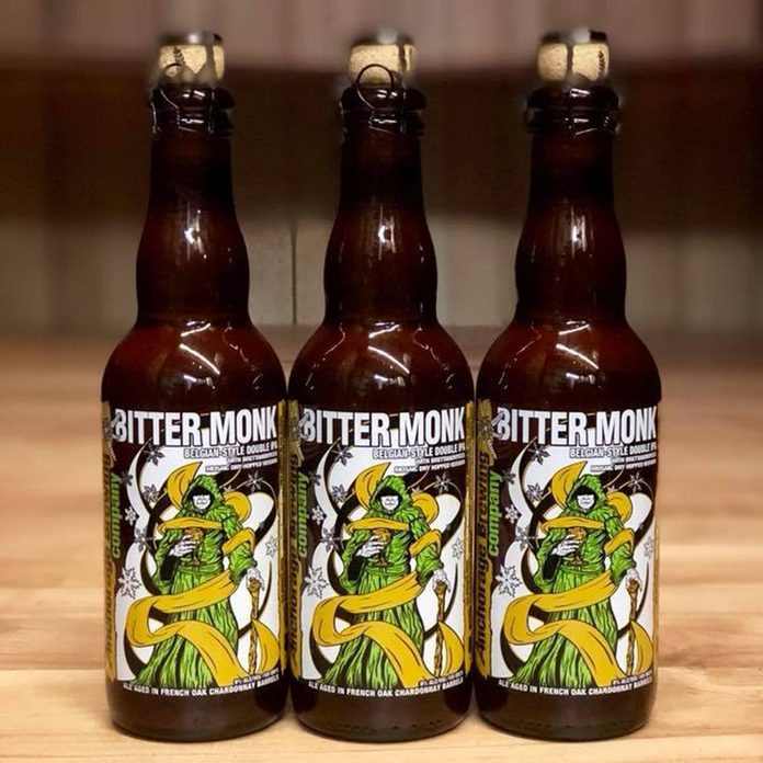 Anchorage Brewing Company Bitter Monk Beer