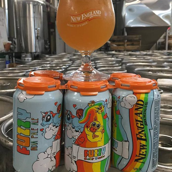New England Brewing Co Fuzzy Baby Duck