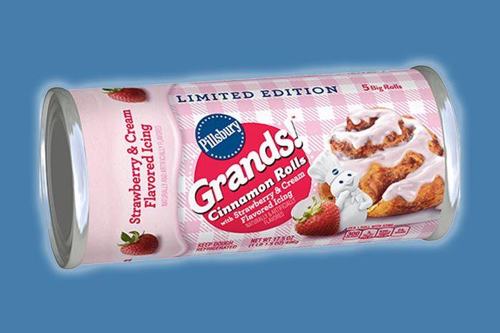 Pillsbury Grands Strawberry & Cream Cinnamon Rolls