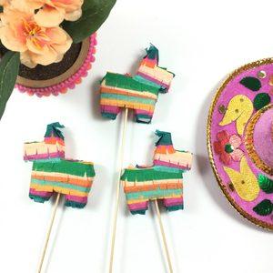 Pinata Cake Toppers