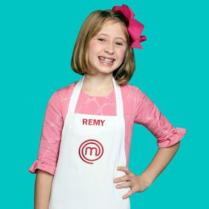 MASTERCHEF: JUNIOR EDITION: Remy Age: 12 Hometown: New York, NY Signature Dish: Shrimp Scampi in Curry Sauce CR: Michael Becker / FOX. © 2018 / FOX Broadcasting.