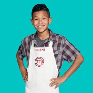 MASTERCHEF: JUNIOR EDITION: Quani Age: 11 Hometown: Lawrenceville, GA Signature Dish: Homemade Fettuccine with Meat Sauce CR: Michael Becker / FOX. © 2018 / FOX Broadcasting.