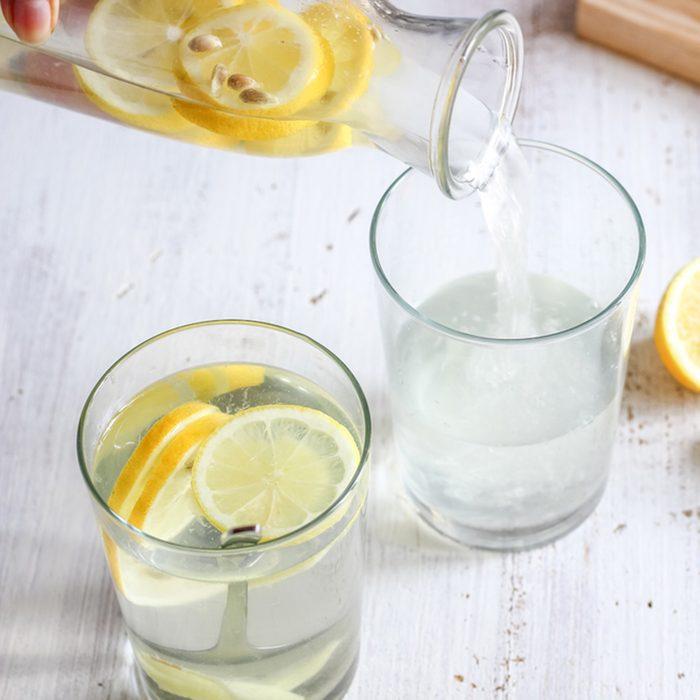 Detox Lemon Ginger Water