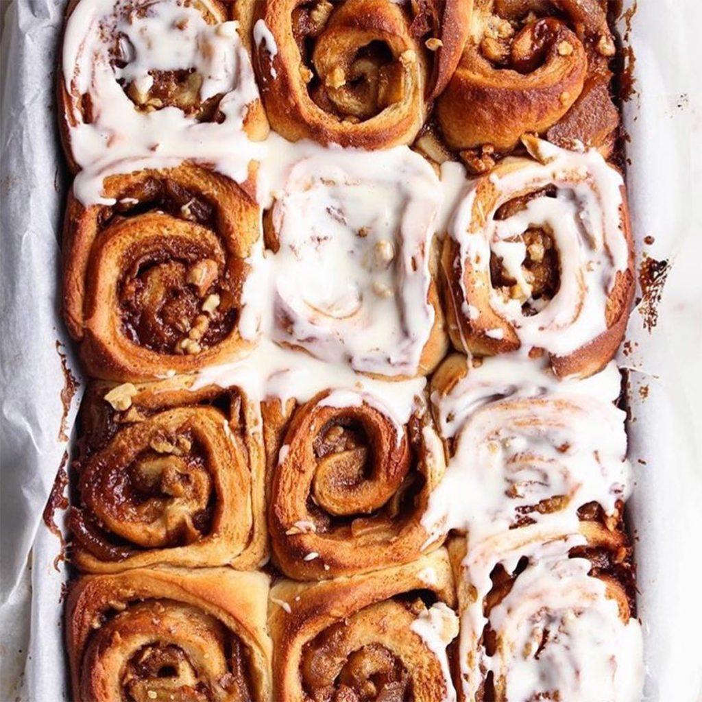 cinnamon rolls, instagram