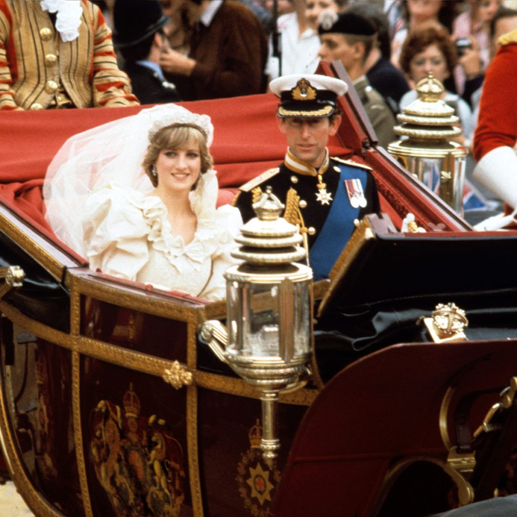Mandatory Credit: Photo by REX/Shutterstock (88888h) Prince Charles and Princess Diana Wedding of Prince Charles and Lady Diana Spencer, London, Britain - 29 Jul 1981
