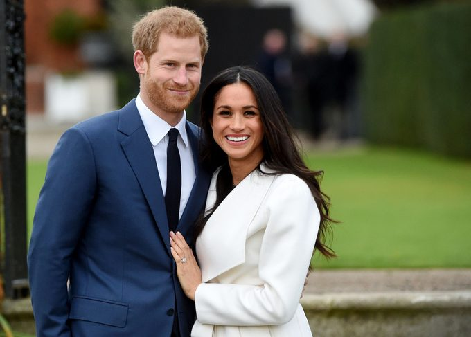 Britain's Prince Harry pose with Meghan Markle during a photocall after announcing their engagement in the Sunken Garden in Kensington Palace in London, Britain, 27 November. Clarence House earlier 27 November 2017 announced the engagement of Prince Harry to Meghan Markle. 'His Royal Highness the Prince of Wales is delighted to announce the engagement of Prince Harry to Ms Meghan Markle. The wedding will take place in Spring 2018. Further details about the wedding day will be announced in due course.' the statement said. Prince Harry and Meghan Markle engagement in Kensington Palace, London, United Kingdom - 27 Nov 2017