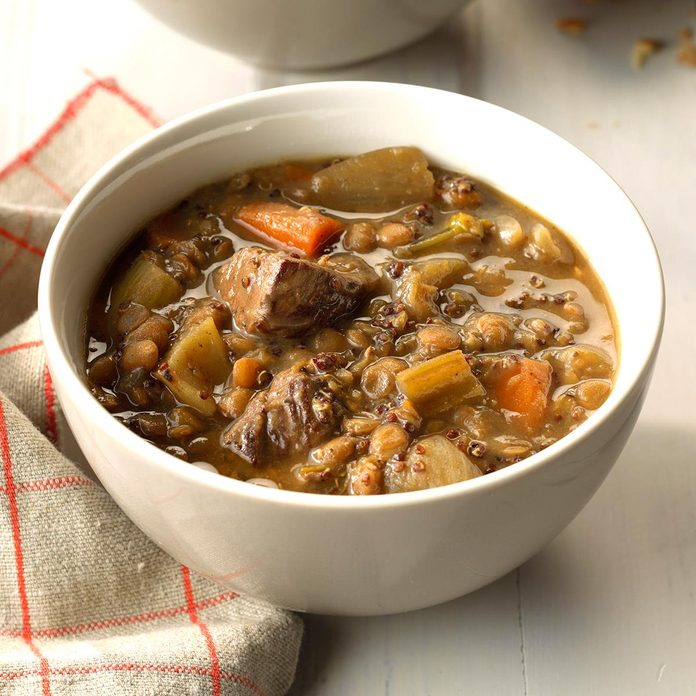 Day 4: Ancient Grain Beef Stew