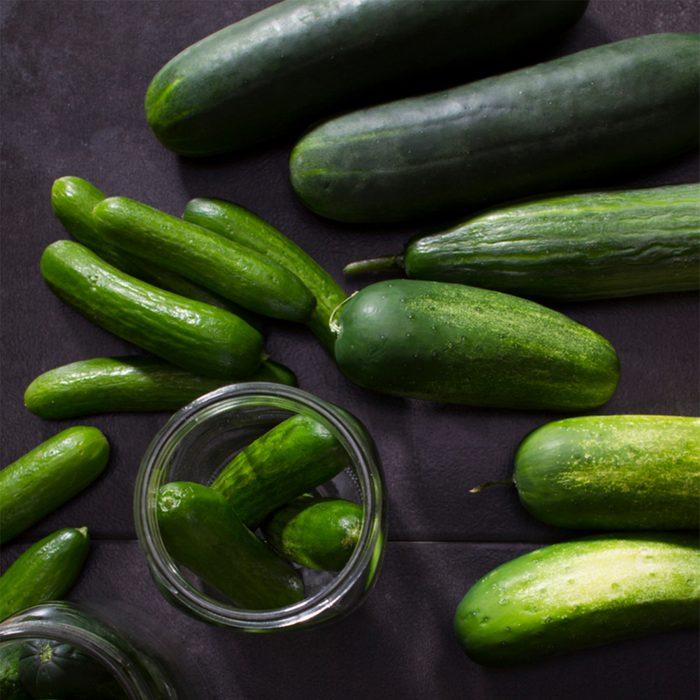 Cucumbers via Taste of Home