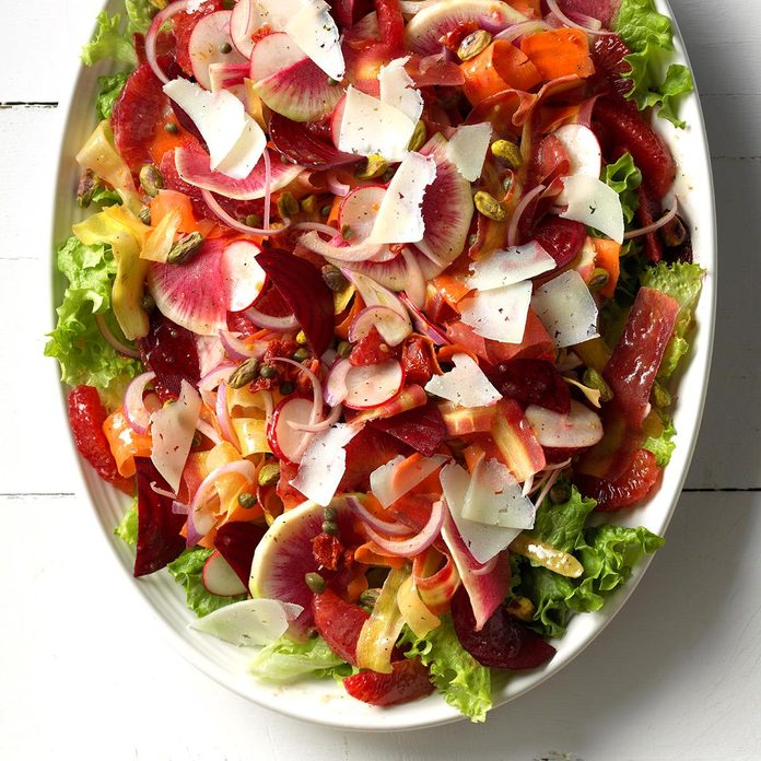 Flamboyant Flamenco Summer Salad
