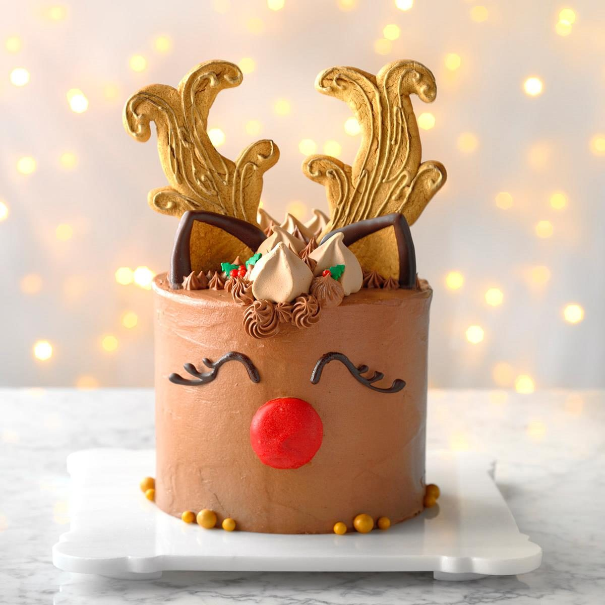 Iowa: Reindeer Cake