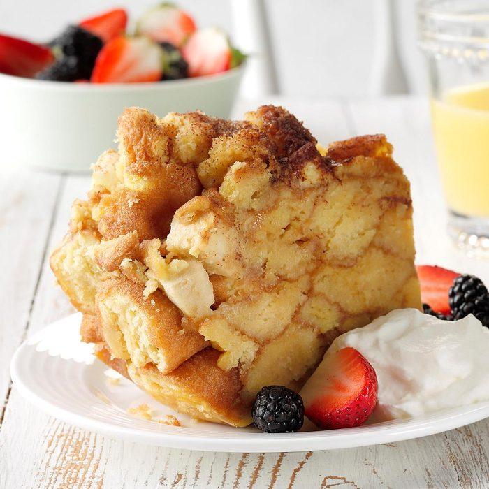 Slow-Cooker Doughnut Breakfast Bake