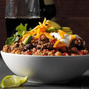 Slow-Cooker Quinoa Chili