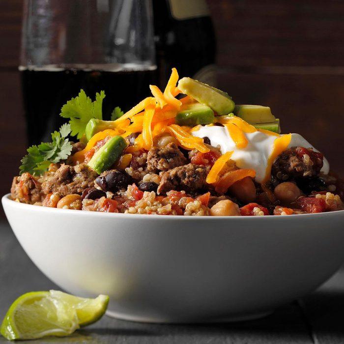 Slow-Cooker Quinoa Chili