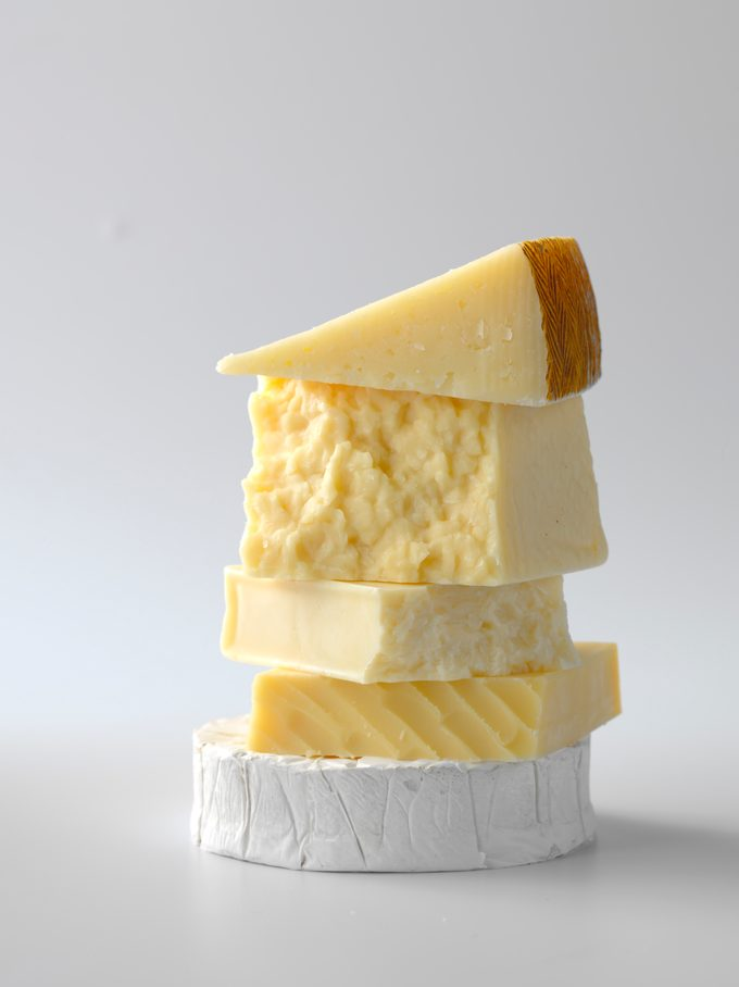 RMS 222725; Best Ever Grilled Cheese; Manchego; Brie; Gruyere; Monterey Jack; Sharp White Cheddar
