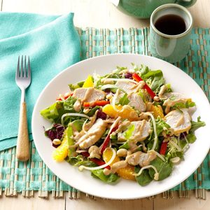 Thai Chicken and Orange Salad