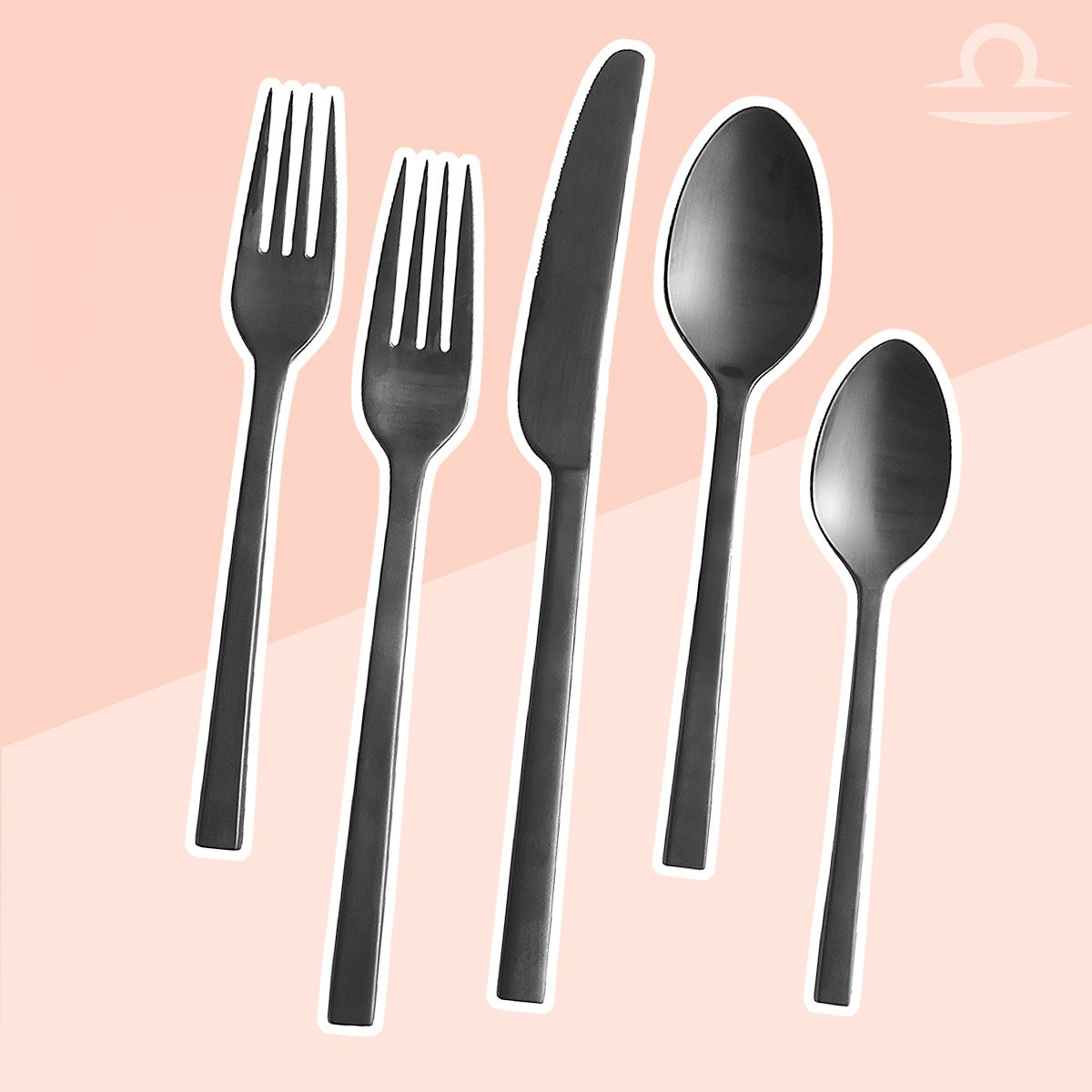 libra matte black flatware copy