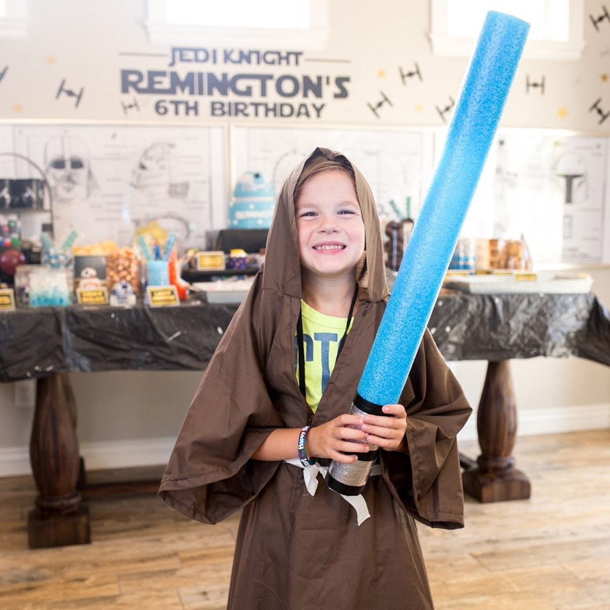 Star Wars Birthday Party Jedi idea