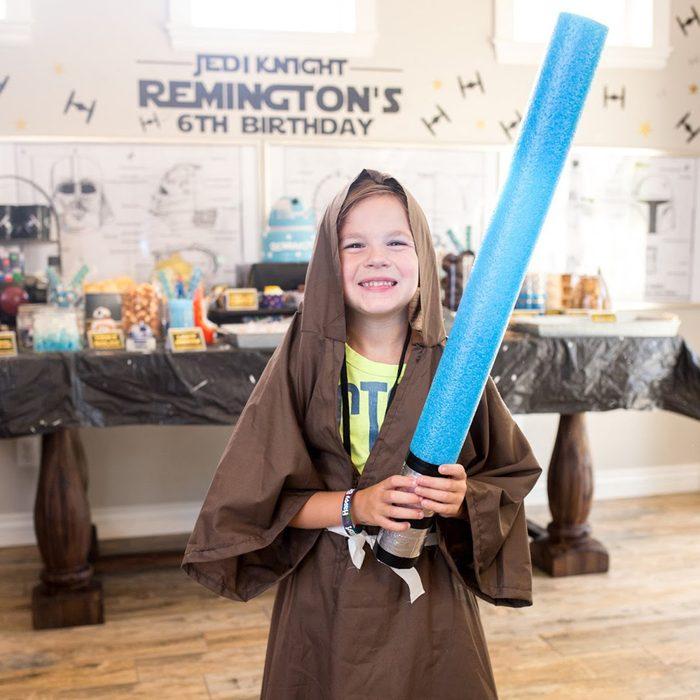 Star Wars Birthday Party Jedi idea