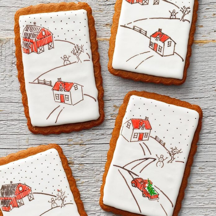Inspired by Pictionary: Gingerbread Cards