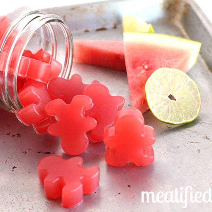 Watermelon gummies