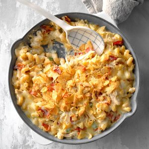 Spicy Chicken and Bacon Mac