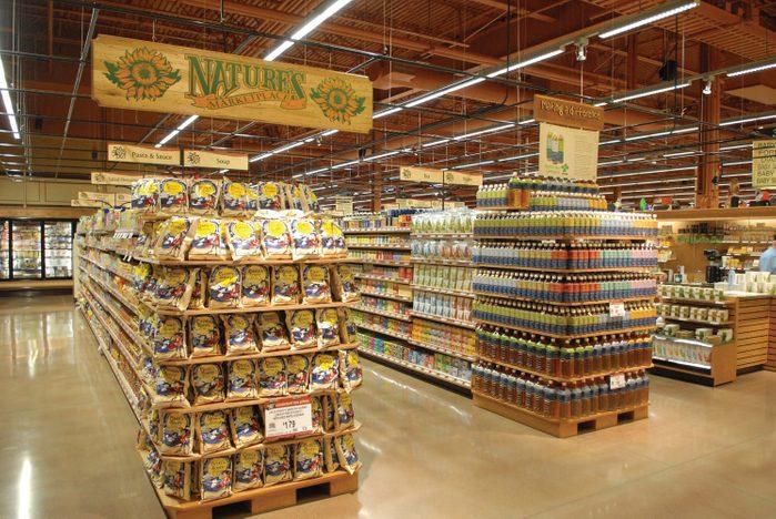 Wegmans grocery store Nature's Marketplace