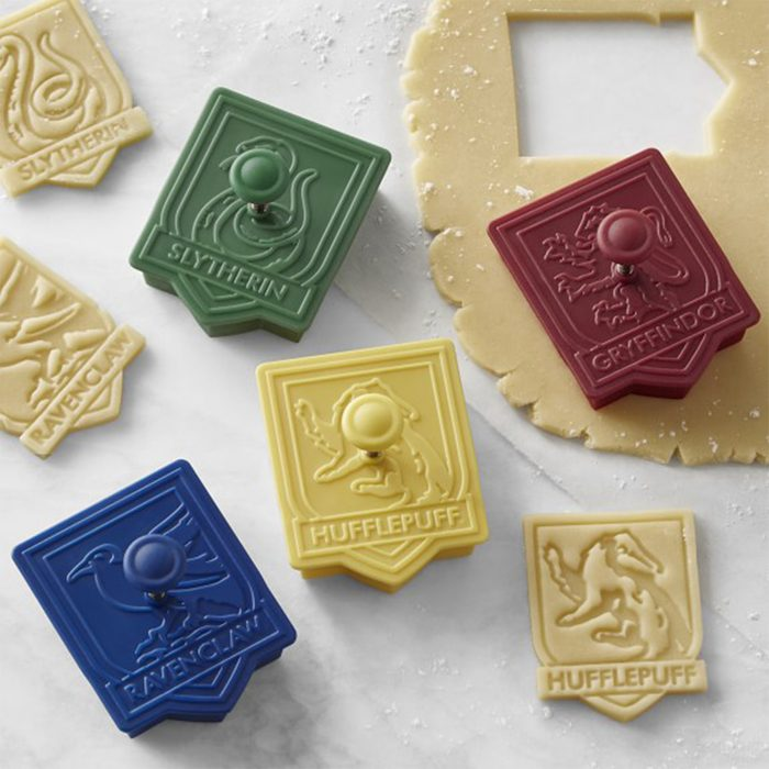 Harry Potter cookie cutters via William Sonoma