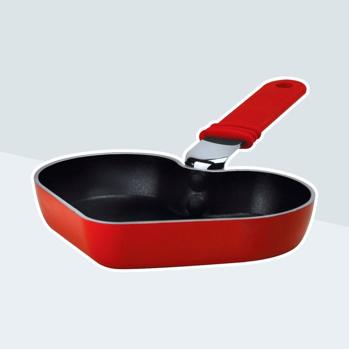 heart shape frying pan