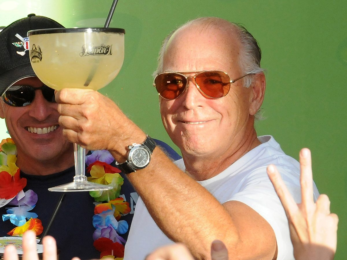 Jimmy Buffett Guinness World Record for the largest margarita ever made in celebration of the Margaritaville Casino Opening at Flamingo, Las Vegas, America - 14 Oct 2011