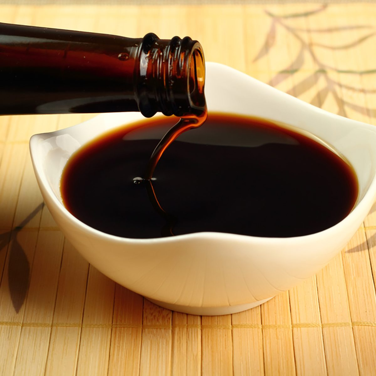 Pouring Soy Sauce into bowl; Shutterstock ID 161366414; Job (TFH, TOH, RD, BNB, CWM, CM): Taste of Home