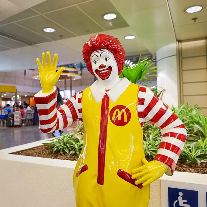 Ronald McDonald character