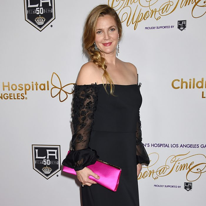 Drew Barrymore arrives to the CHLA Once Upon A Time Gala on October 15, 2016 in Los Angeles, CA