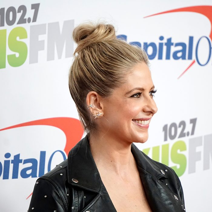 Sarah Michelle Gellar at the Jingle Ball 2017 at the Forum on December 2, 2017 in Inglewood, CA