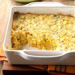 Apple Quinoa Spoon Bread