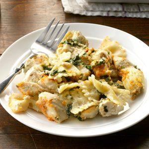 Artichoke & Spinach Chicken Casserole